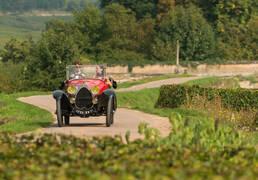 De route van de grands crus - Bugatti