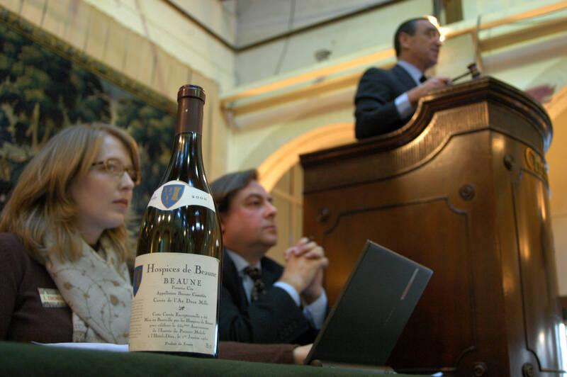 Vente des vins Hospices de Beaune