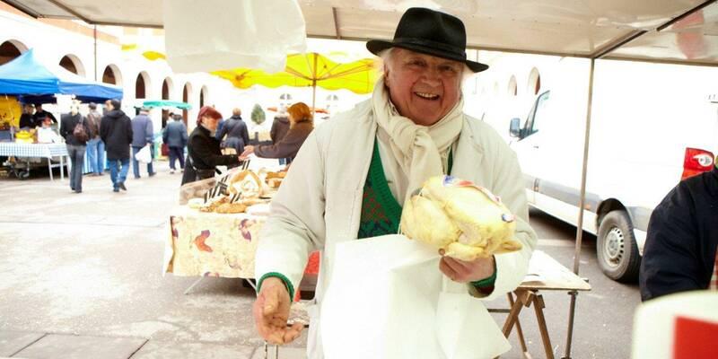Markt van Chagny
