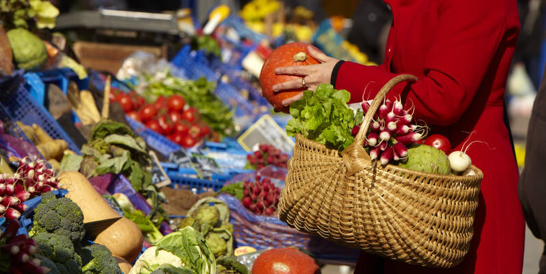Markt in Chagny  ©JosyanePiffaut