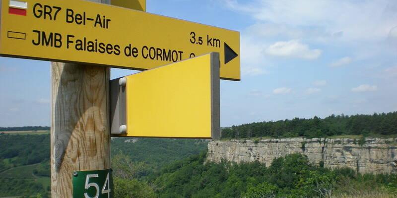 De kliffen van Cormot ©OTI-P.Gateau