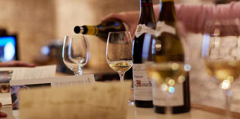 Witte wijn proeverij