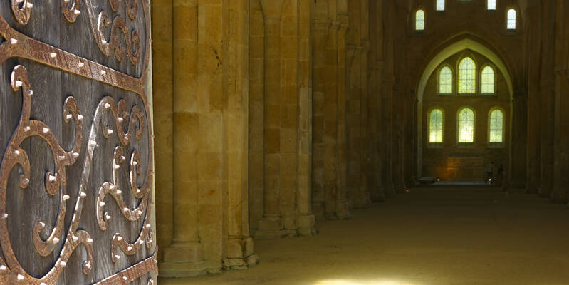 Abdij van Fontenay_Kerk ©Fréderic Dupin