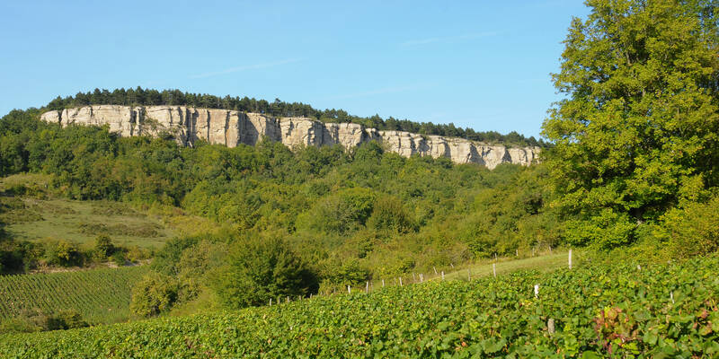 Nolay, Kliffen van Vauchignon