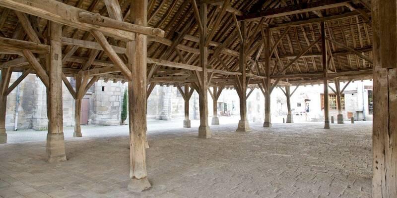 Markthallen van Nolay