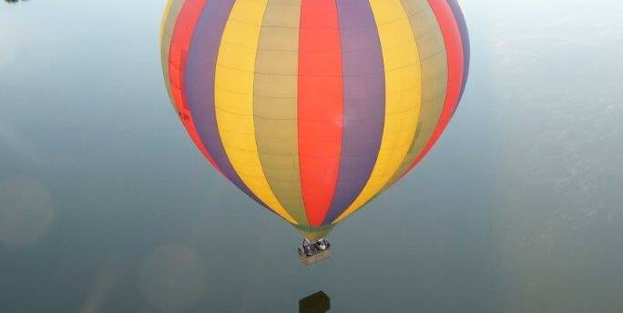 Chagny, Luchtballon