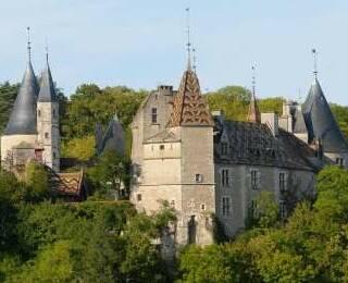 Kastelen en Abdijen in Bourgondië