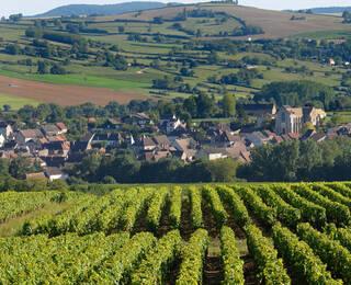 De dorpen dan de Pays Beaunois