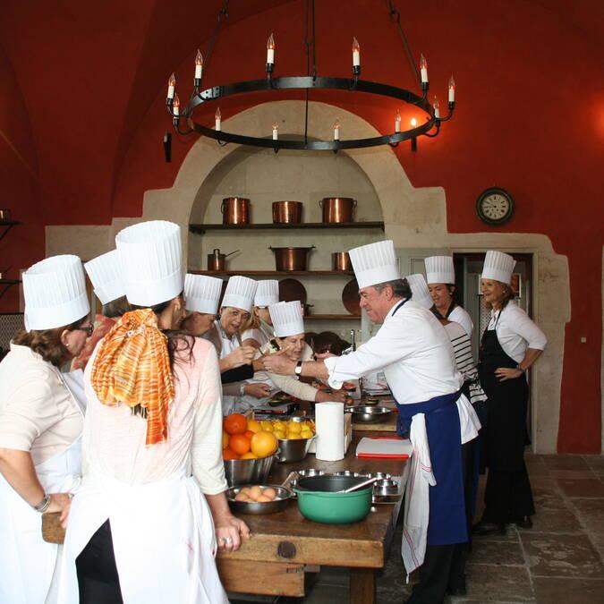 Kookworkshop JLBarnabet Kasteel van Ancy le Franc